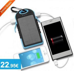 Batería Carga Solar Impermeable - Oferlandia.com