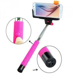 Palo Selfie extensible con botón de Bluetooth - Oferlandia.com