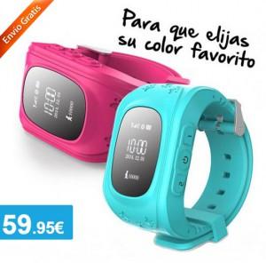 Teléfono Reloj Localizador GPS para Niños - Oferlandia.com f9d15495f4fd
