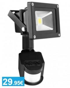 Foco LED con sensor de movimiento - Oferlandia.com