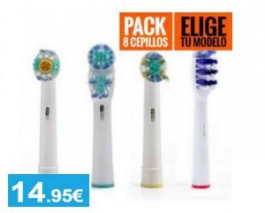 Recambios cepillo eléctrico compatible con Oral B - Oferlandia.com