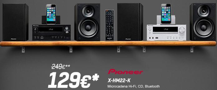 Microcadena Pioneer X-HM22-K - Oferlandia.com