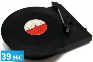 Tocadiscos + Conversor MP3 - Oferlandia.com