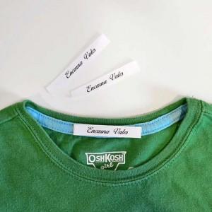 Etiquetas tela para marcar ropa con plancha - Oferlandia.com