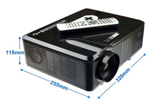 Mini proyector portátil HD Home Cinema - Oferlandia.com