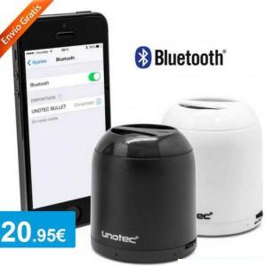 Altavoz Bluetooth Bullet + PowerBank 2600 mah - Oferlandia.com