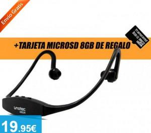 Auricular Deportivo Reproductor mp3 microSD 8Gb - Oferlandia.com