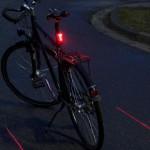 Luz Ultrasport Láser de seguridad para bicicleta - Oferlandia.com