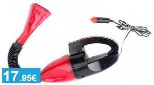 Aspirador de automóvil con luz LED - Oferlandia.com