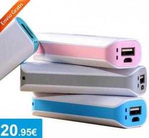 PowerBank 2600 mah - Oferlandia.com