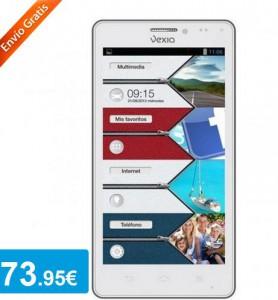 Smartphone Vexia Zippers + Funda - Oferlandia.com