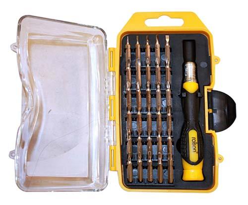 Destornillador de precisión Rolson - Oferlandia.com