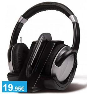 Auriculares inalámbricos con radio FM - Oferlandia.com