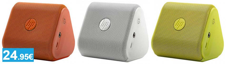 Mini altavoz Bluetooth HP - Oferlandia.com