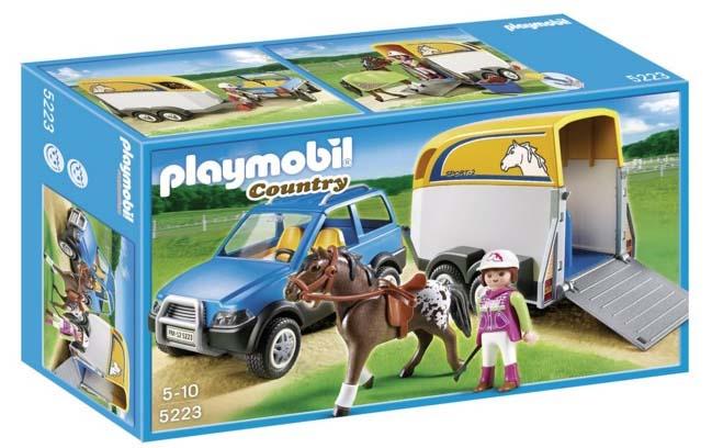 Granja Playmobil - Vehículo con remolque - Oferlandia.com