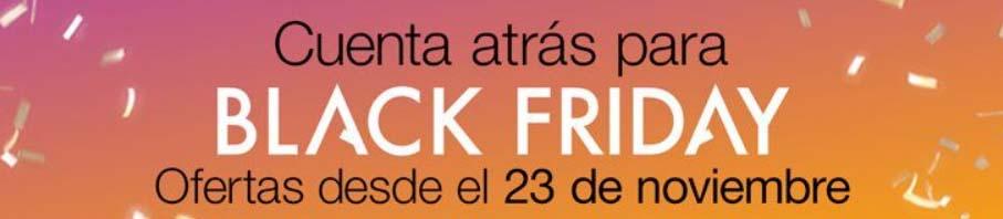 Cuenta atrás para disfrutar del BLACK FRIDAY !!! - Oferlandia.com