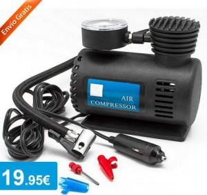 Kit compresor para coche de 12V - Oferlandia.com