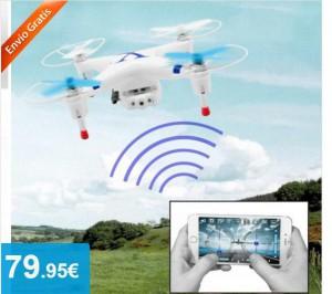 Dron Wifi con Cámara Integrada - Oferlandia.com