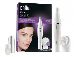 Depiladora y cepillo de limpieza facial Braun - Oferlandia.com