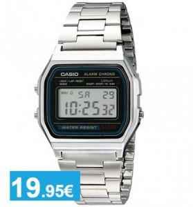 Reloj Digital Casio Plata - Oferlandia.com