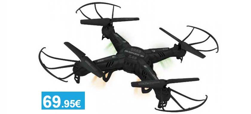 Quad Drone 2.4G + Kit Accesorios - Oferlandia.com