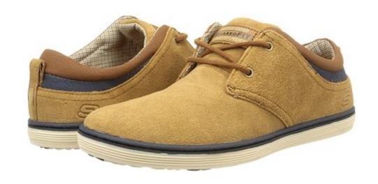 Zapatillas deportivas de piel Skechers - Oferlandia.com