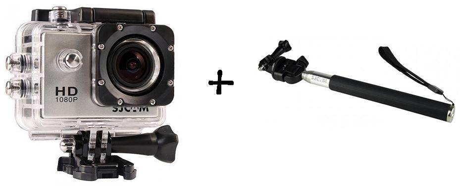 SJCAM SJ4000 + Selfie Stick - Oferlandia.com