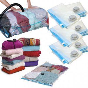 Pack de 6 bolsas guardarropa al vacío - Oferlandia.com